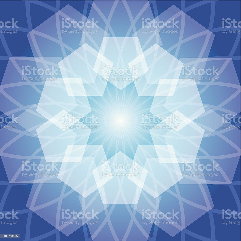 Traditional Islamic Pattern royalty-free stock vector art