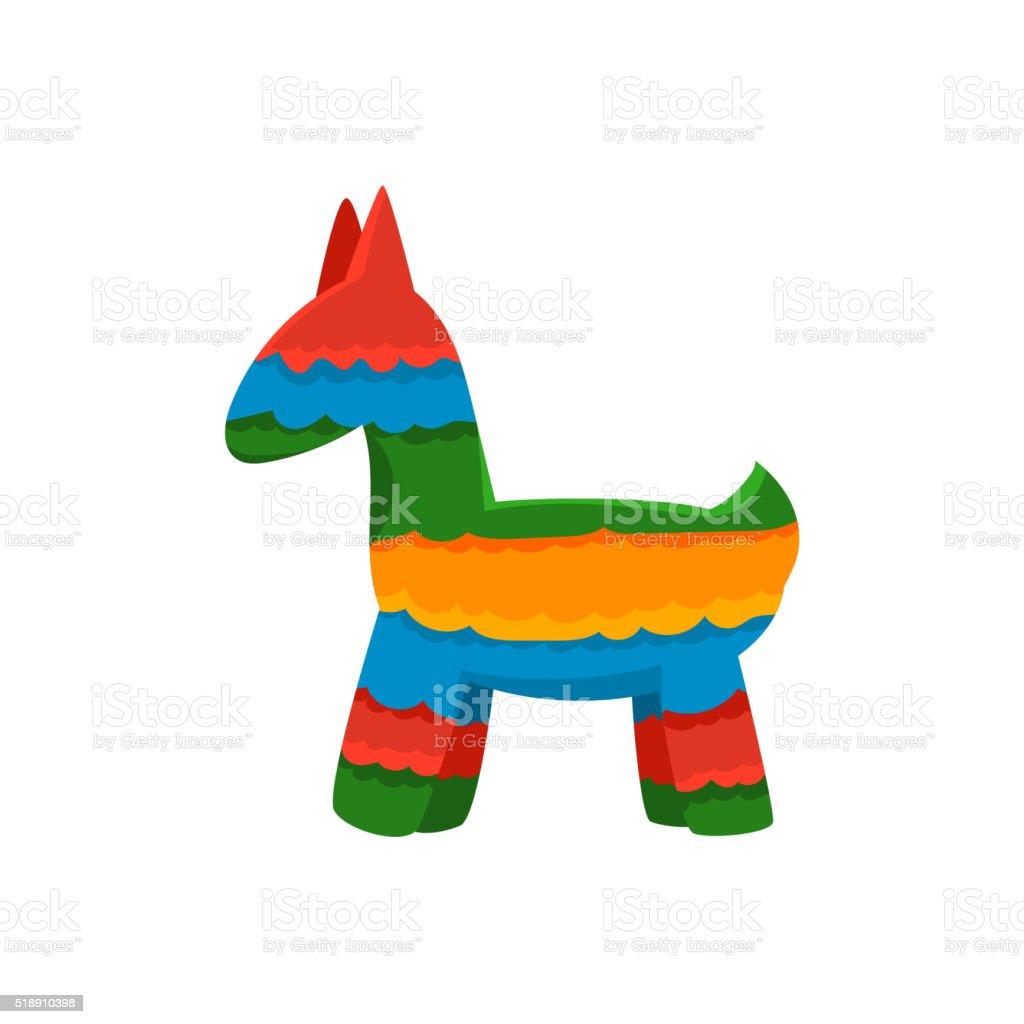 Traditional Mexican Pinata vector art illustration