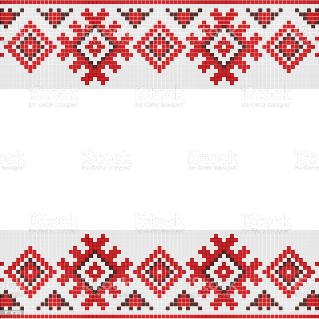 traditional ornament royalty-free stock vector art
