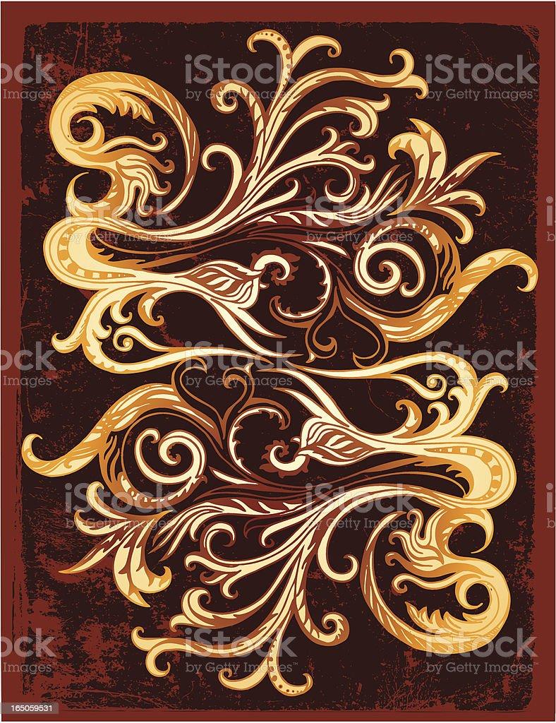 Traditionelles paisley-Elemente Lizenzfreies vektor illustration