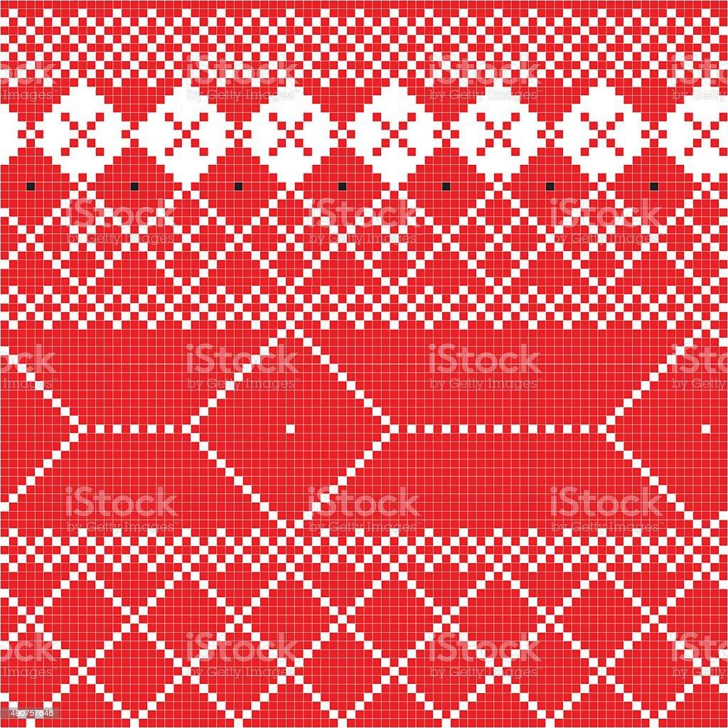 Traditional pattern vector art illustration