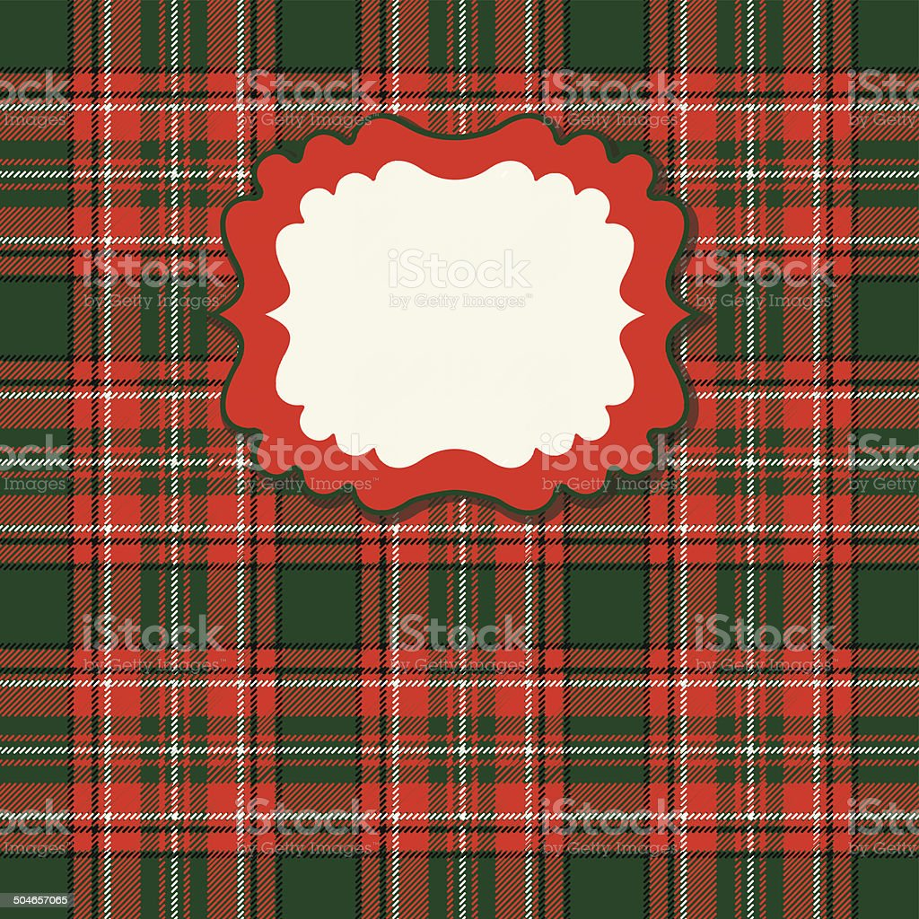Traditional tartan seamless pattern royalty-free stock vector art