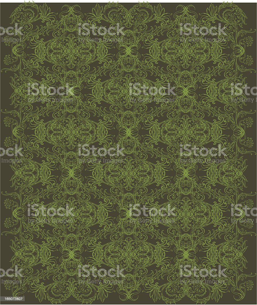 traditional wallpaper royalty-free stock vector art