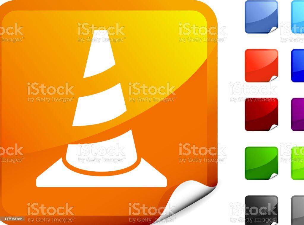 traffic cone internet royalty free vector art royalty-free stock vector art