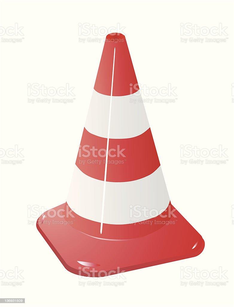 traffic cones royalty-free stock vector art