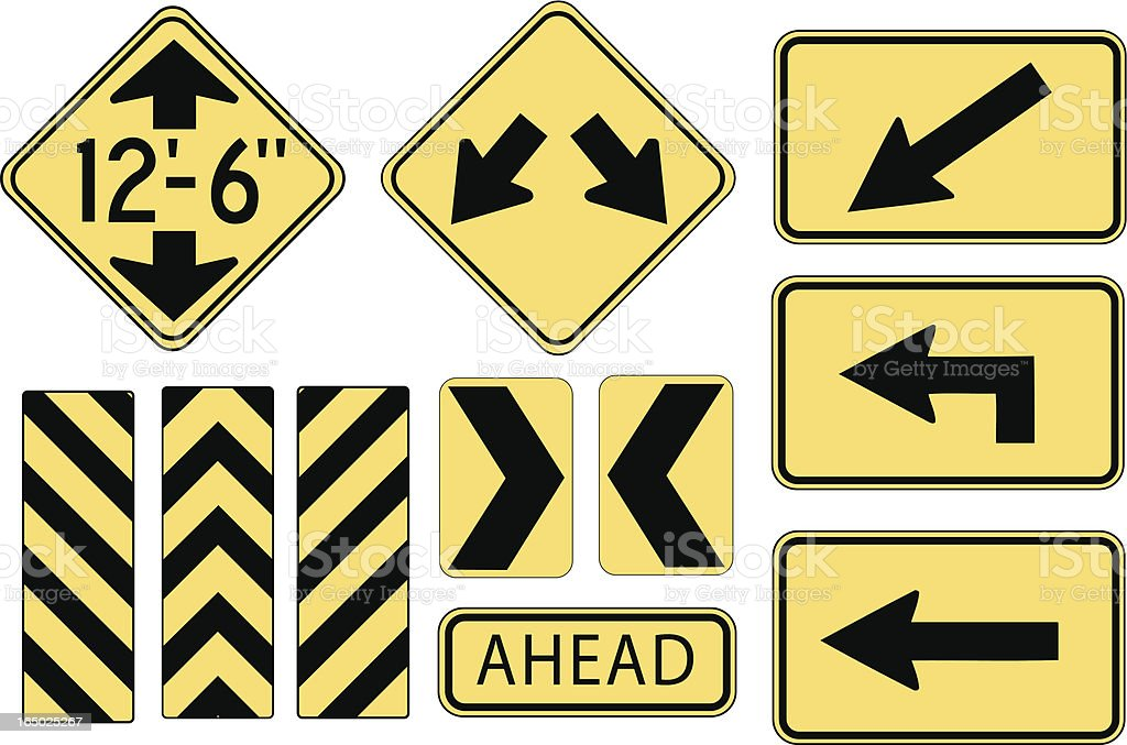 Traffic Control royalty-free stock vector art