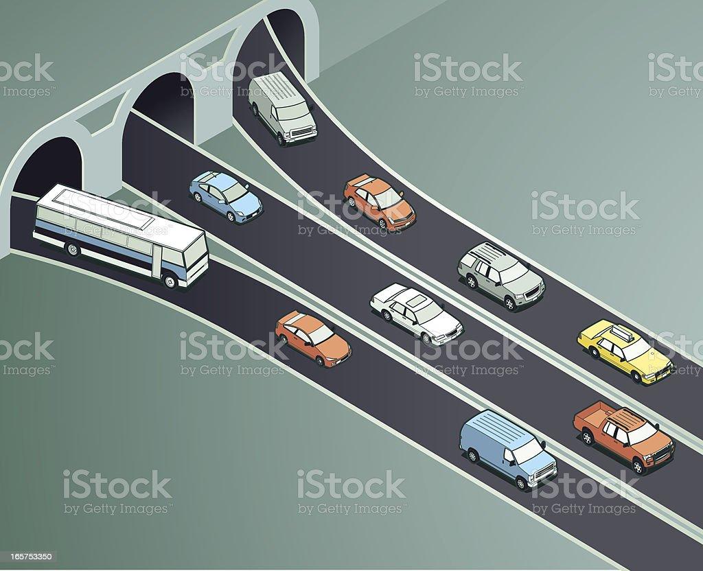Traffic Drivers Illustration vector art illustration