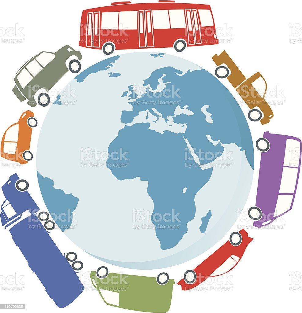 Traffic royalty-free stock vector art