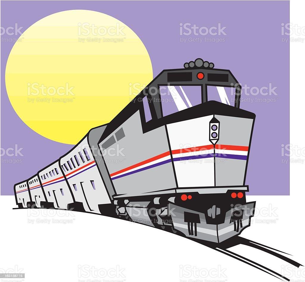 Train royalty-free stock vector art