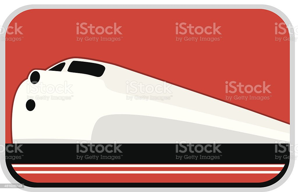 Train royalty-free stock vector art