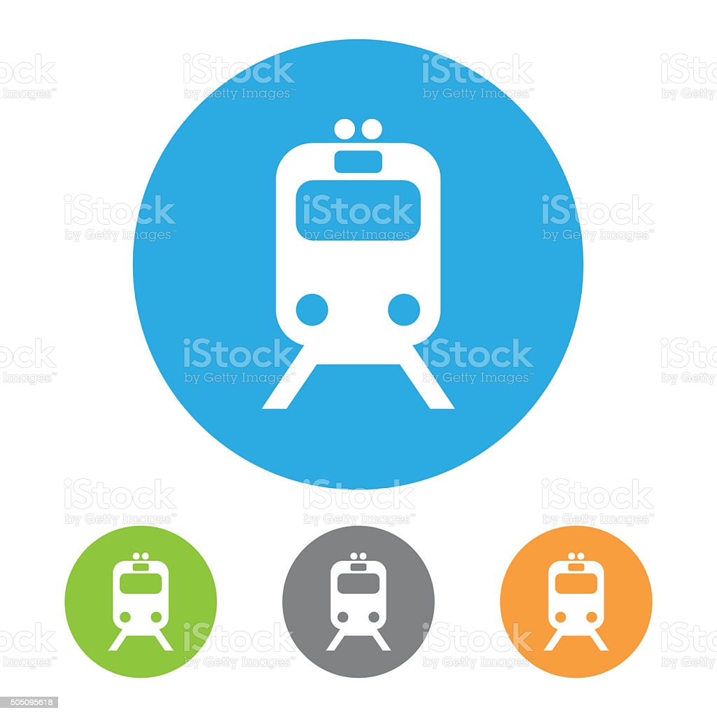 Tramway Icon. Vector stock photo