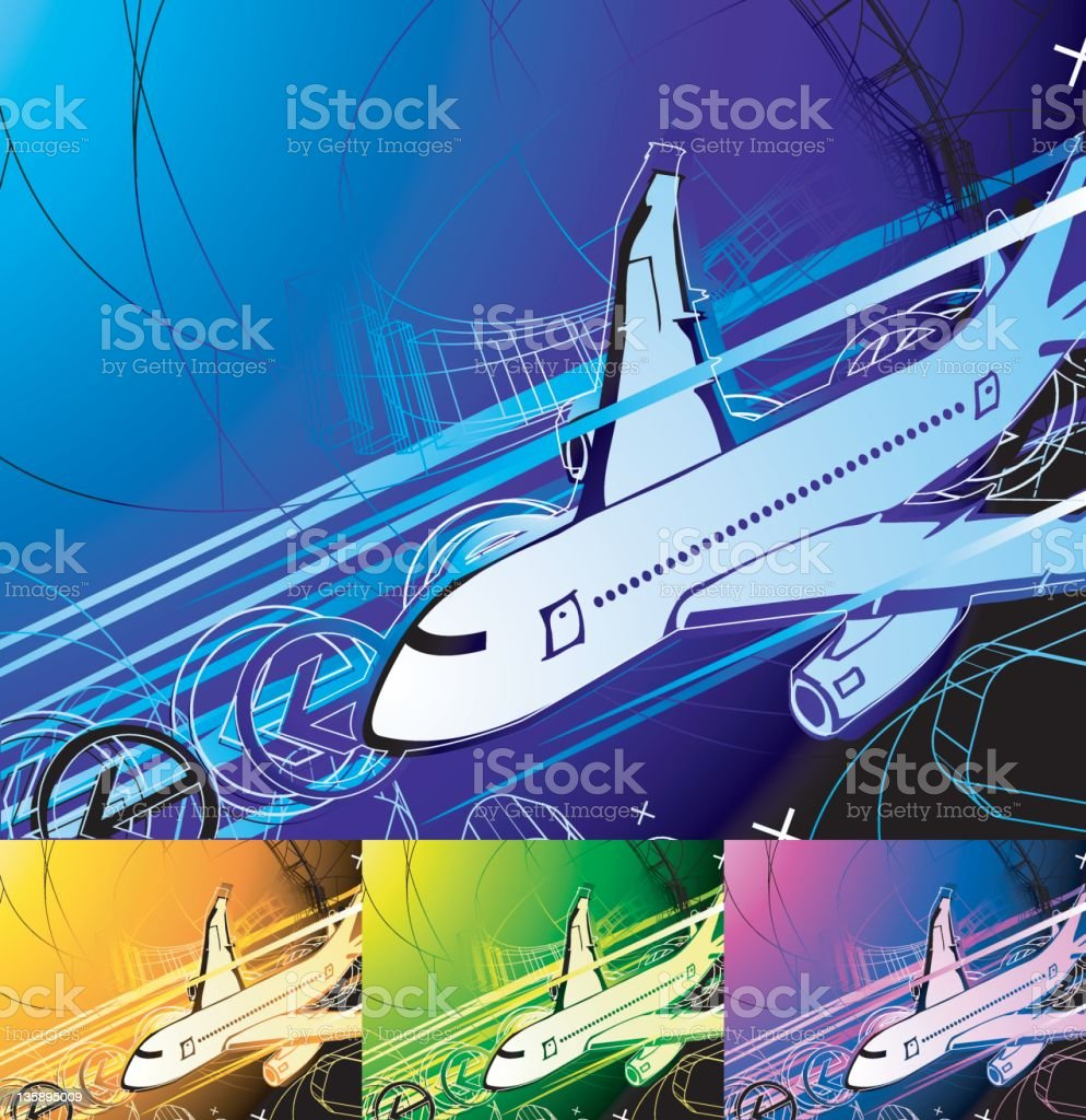 transporation (vector) royalty-free stock vector art