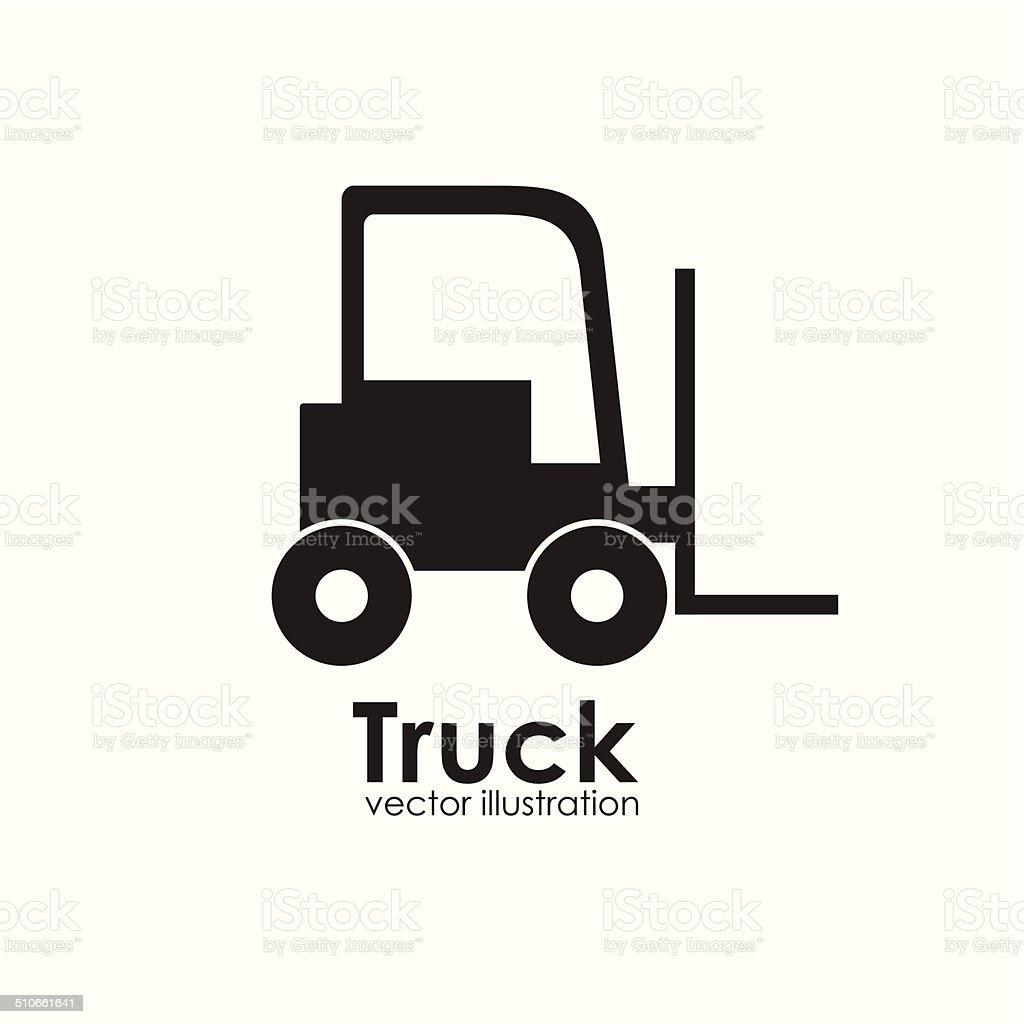 Transport design vector art illustration