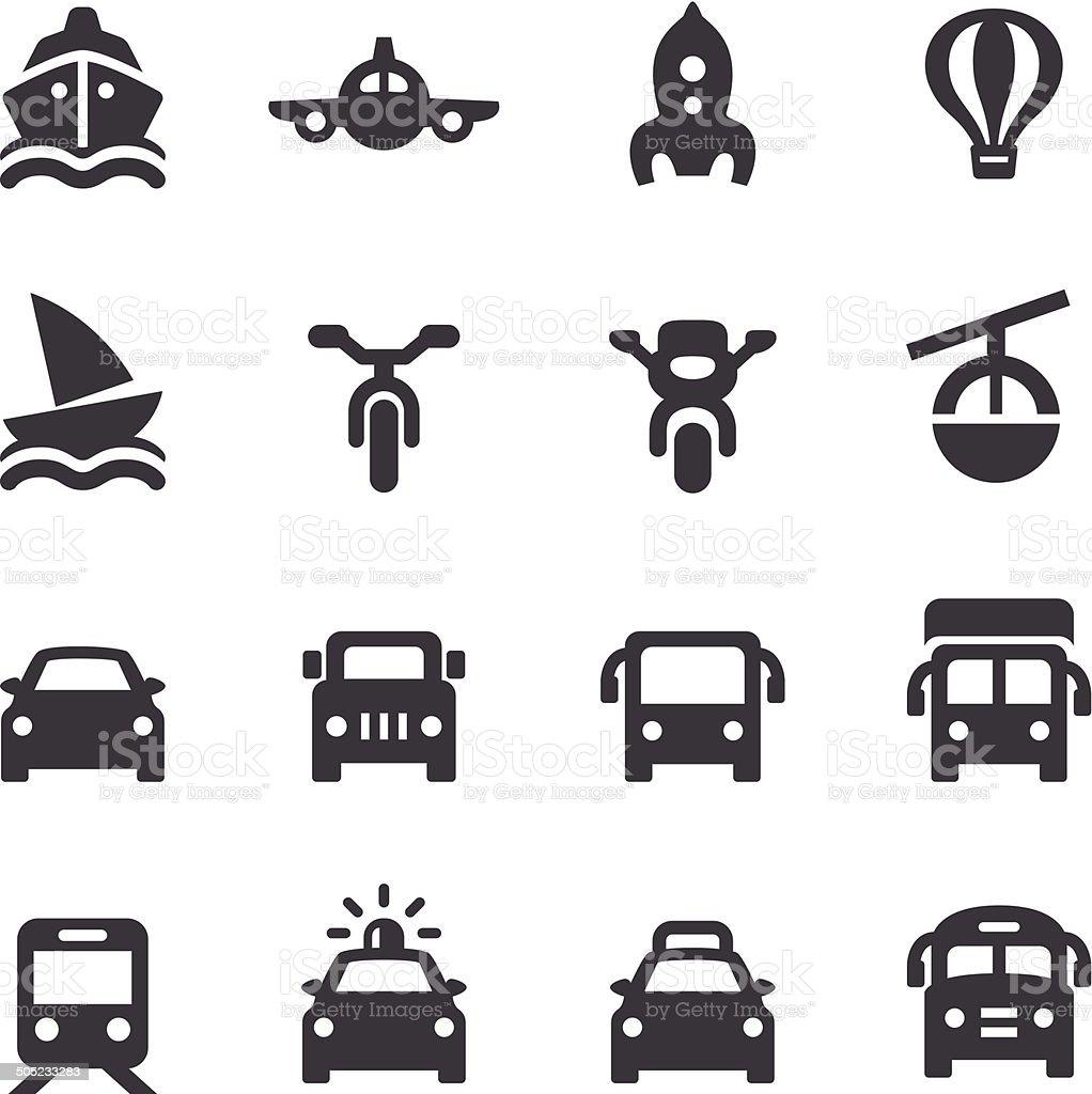 Transport Icon - Acme Series vector art illustration