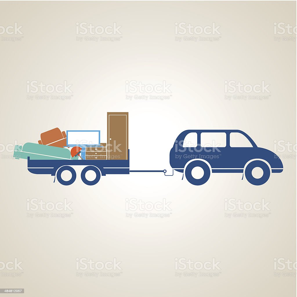 Transport vector art illustration