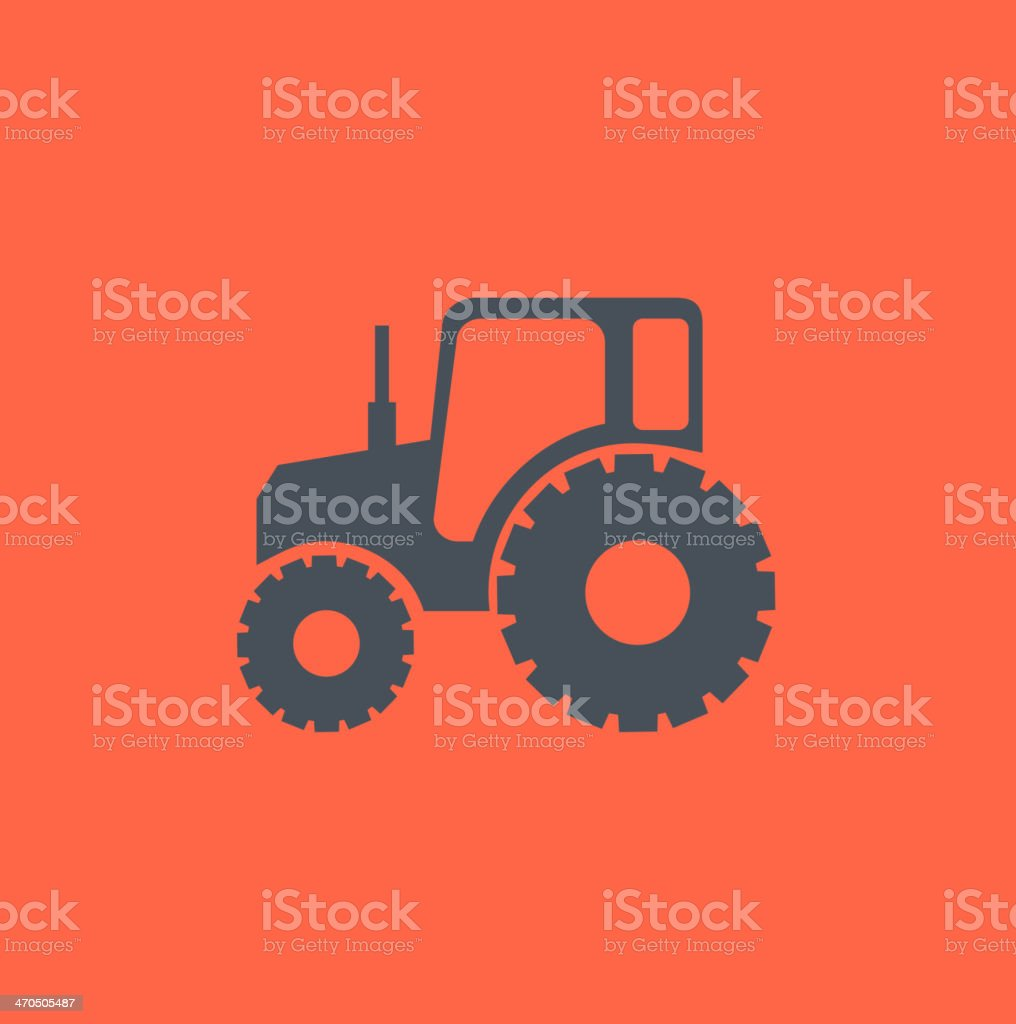 Transportation Flat Icon vector art illustration