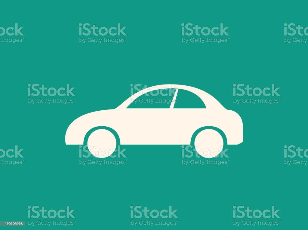 Transportation Flat Icon vector art illustration