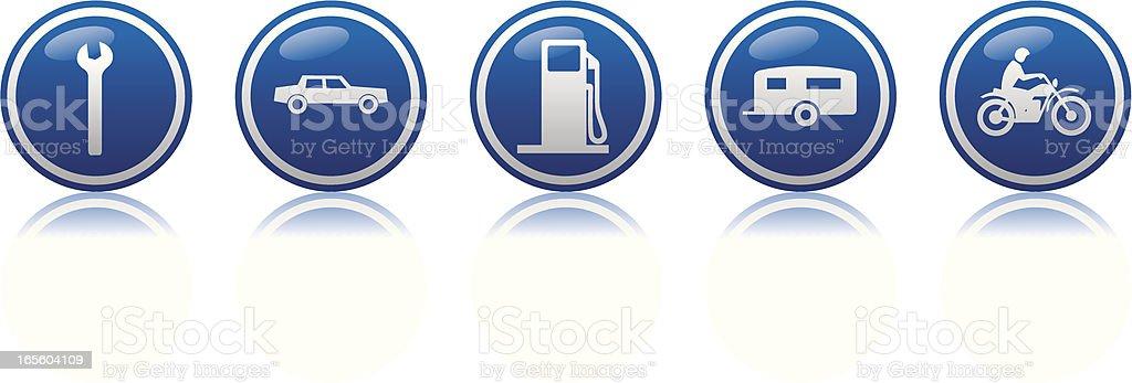 travel 4 icon royalty-free stock vector art