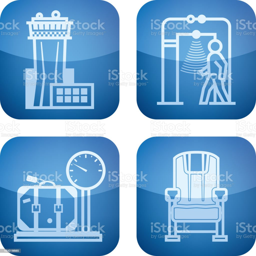 Travel and Airport royalty-free stock vector art