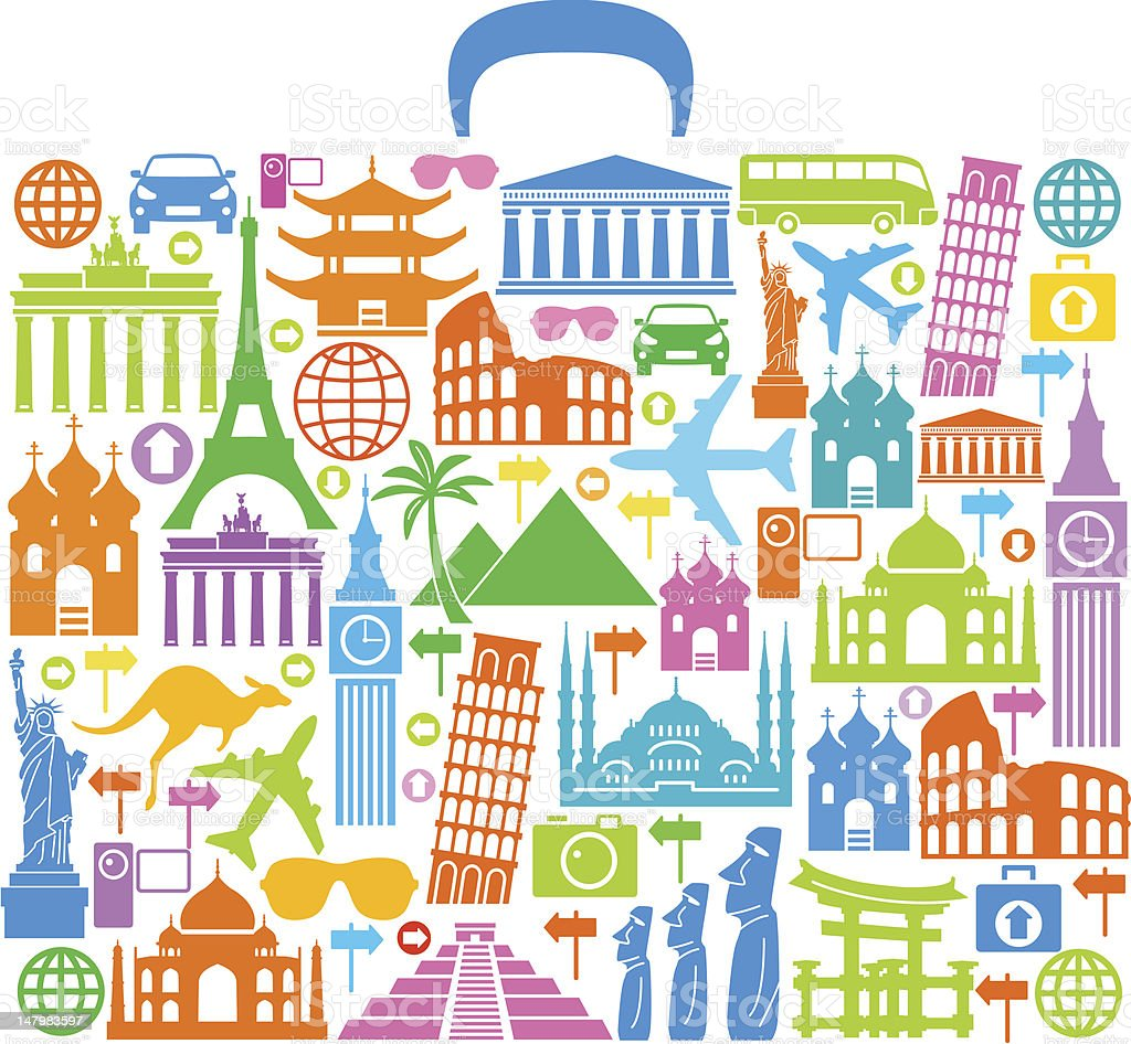Travel Concept vector art illustration