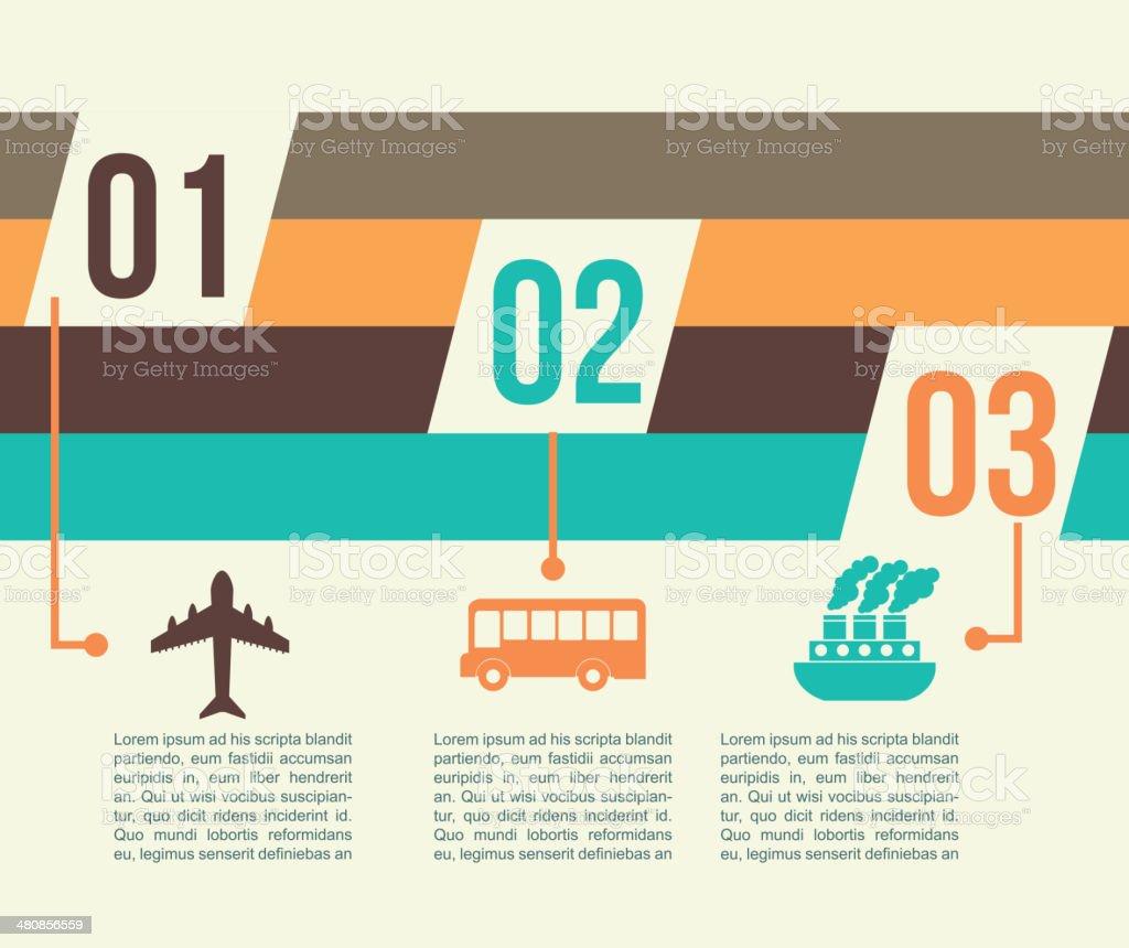 travel infographics royalty-free stock vector art