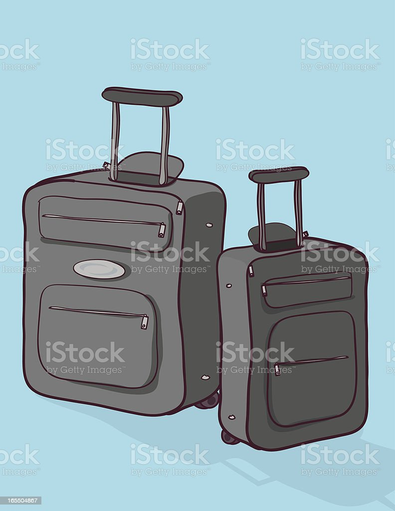 Travel Luggage royalty-free stock vector art