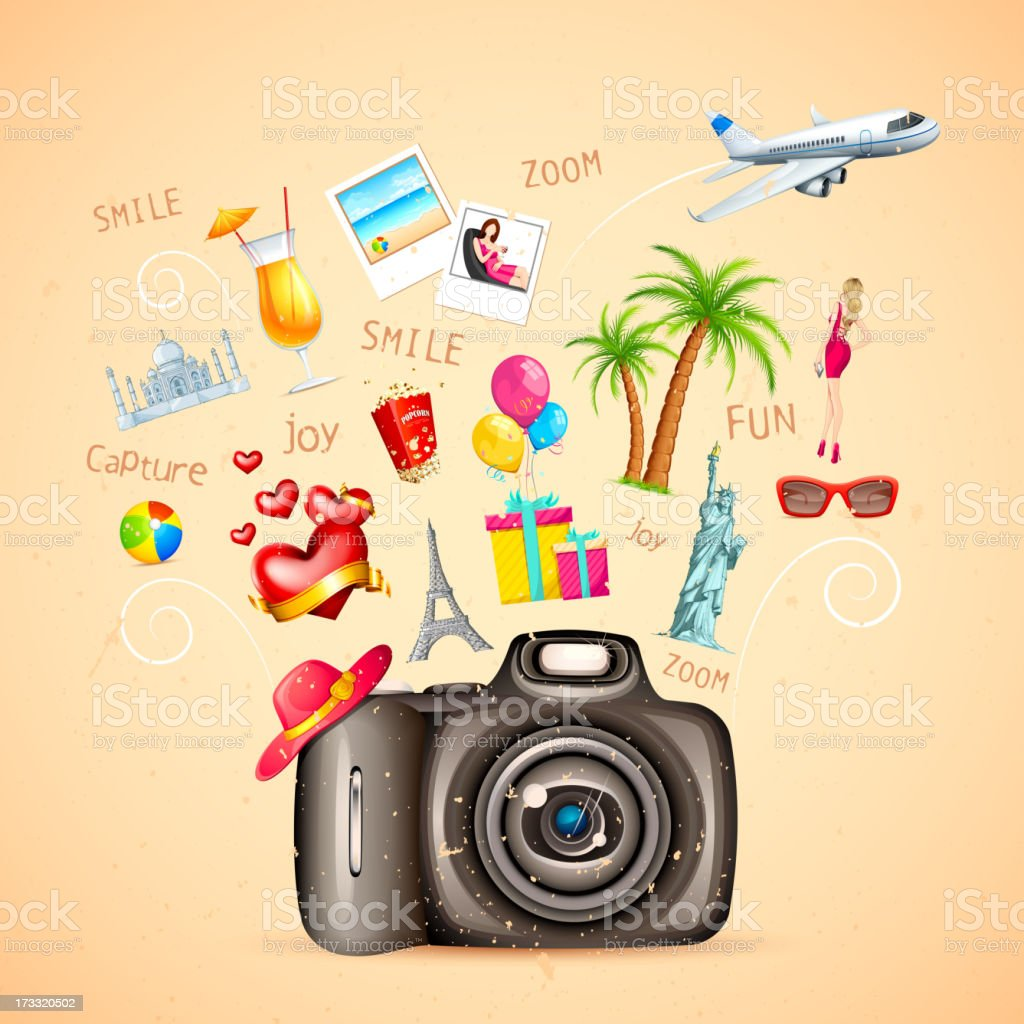 Travel Vacation royalty-free stock vector art