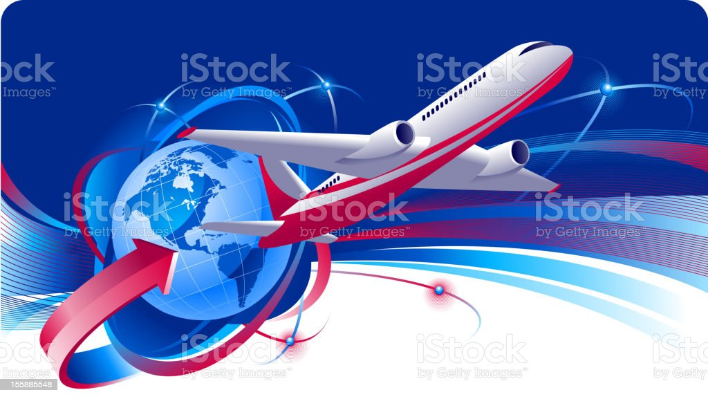 Travel royalty-free stock vector art