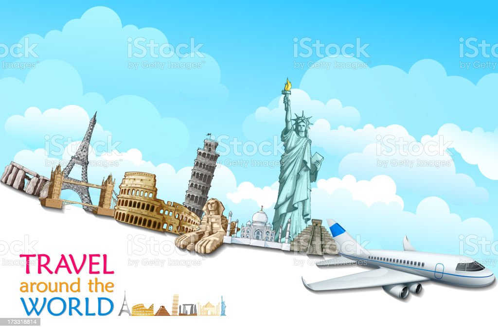 Travelling royalty-free stock vector art