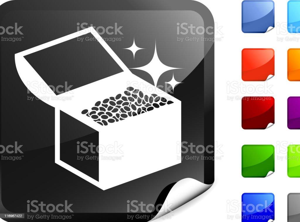 treasure chest internet royalty free vector art royalty-free stock vector art