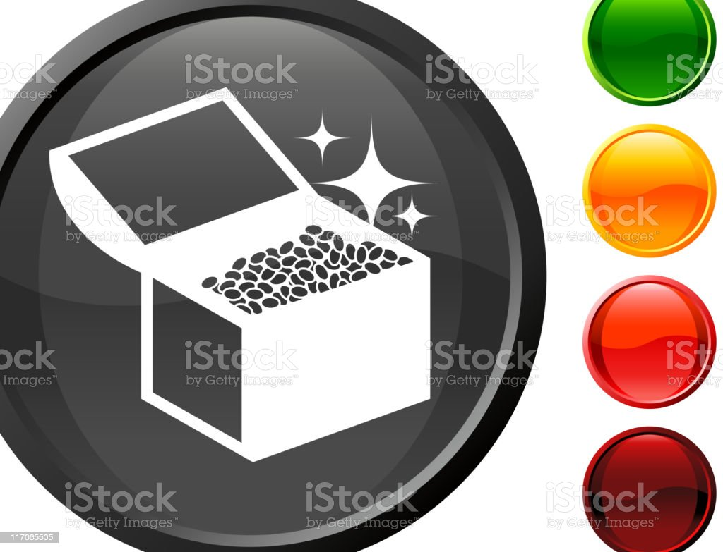 treasure chest internet royalty free vector art royalty-free stock vector art