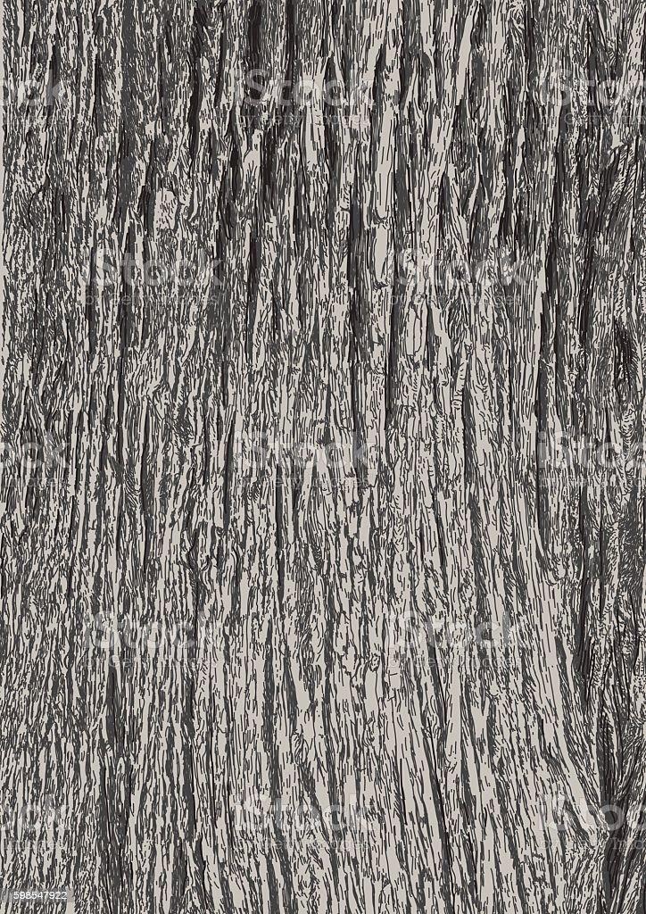 Tree bark vector art illustration
