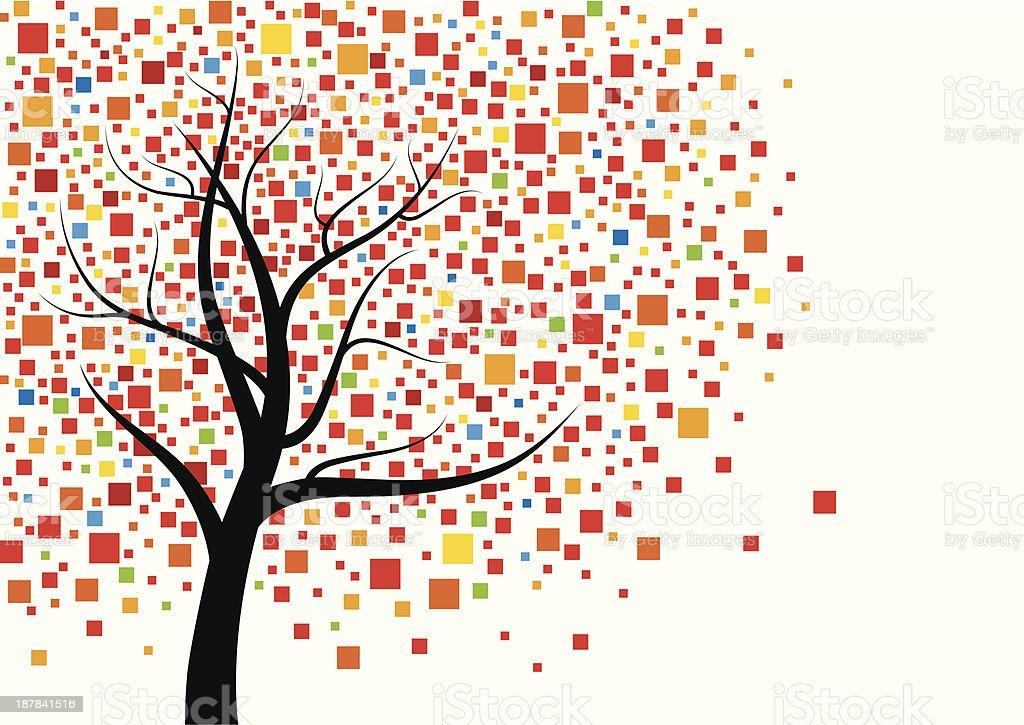 Tree design royalty-free stock vector art