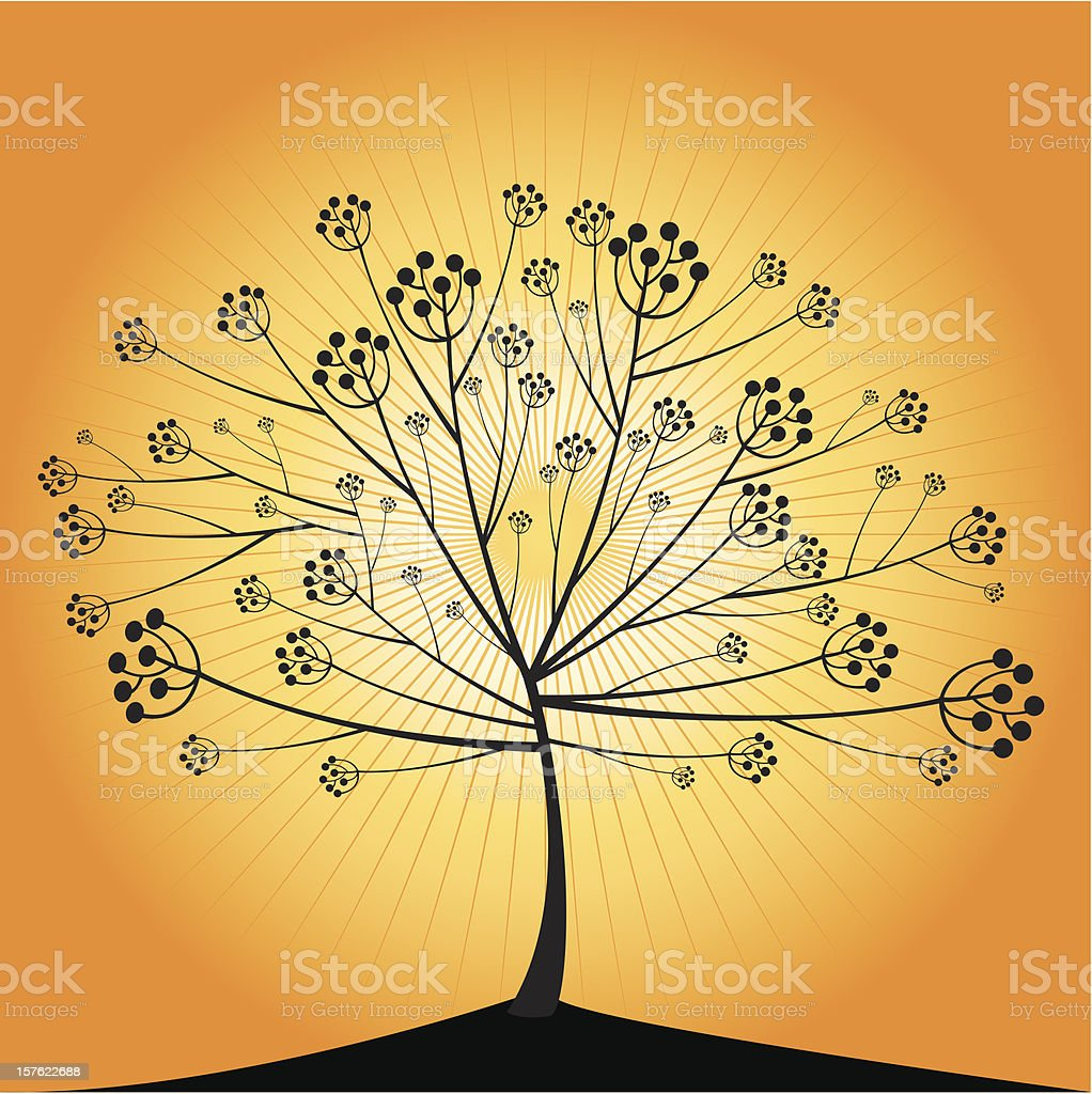Tree element royalty-free stock vector art
