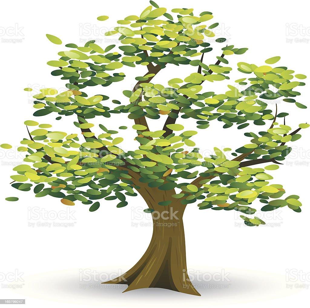 Tree Icon royalty-free stock vector art