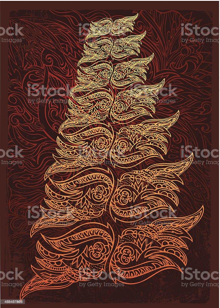 tree of energy royalty-free stock vector art