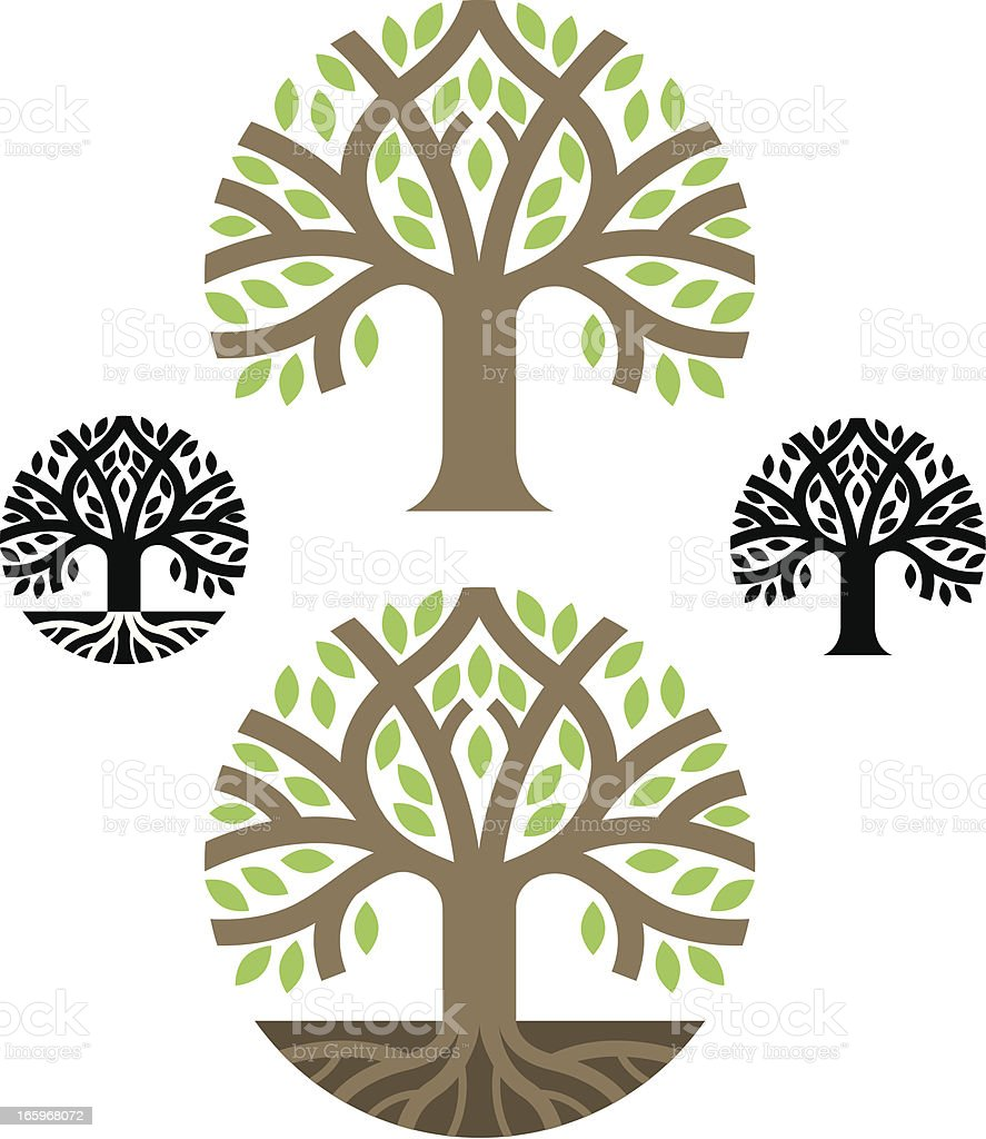 Tree of Life illustration royalty-free stock vector art