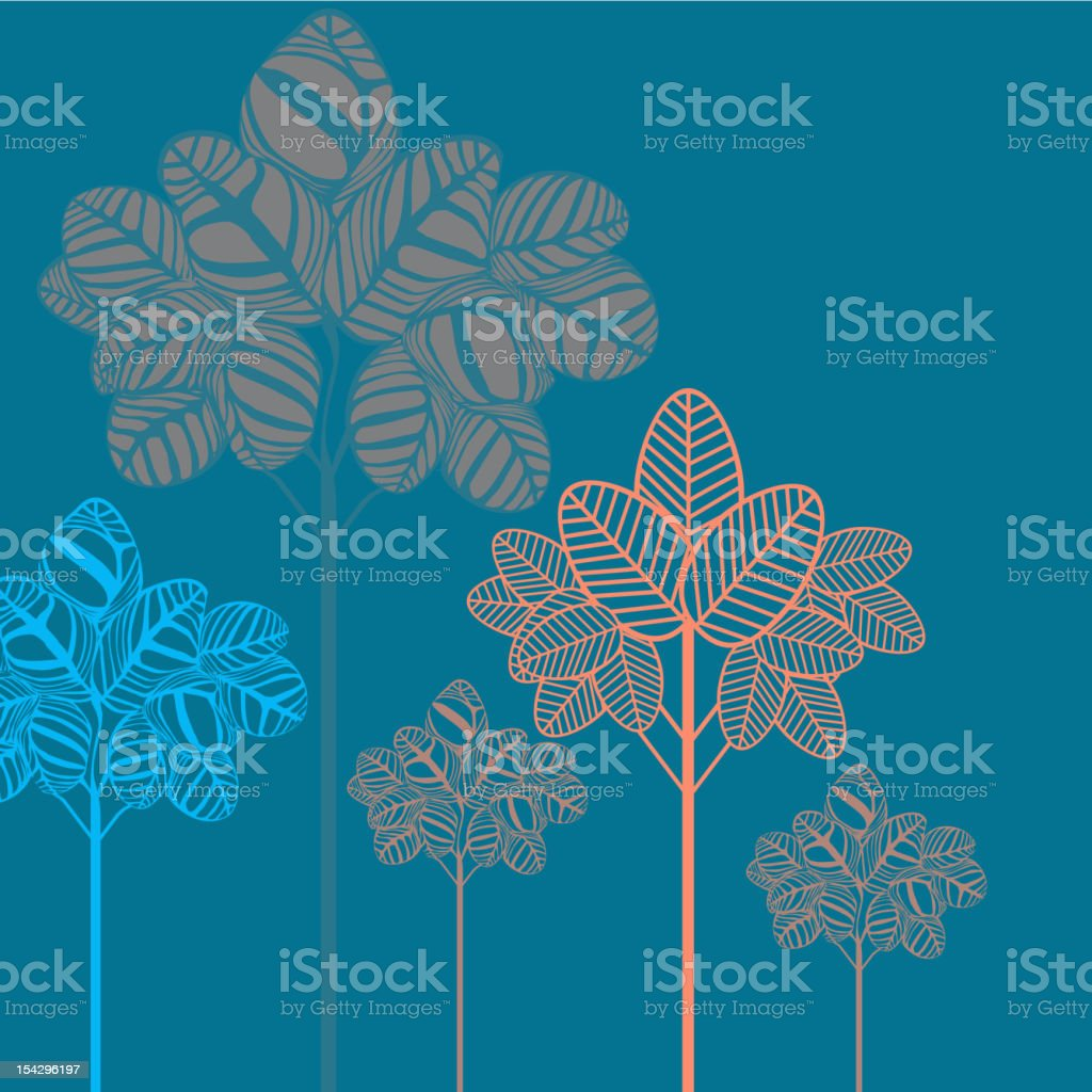 tree pattern royalty-free stock photo