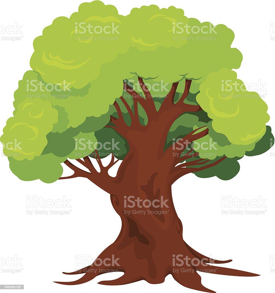 Tree royalty-free stock vector art