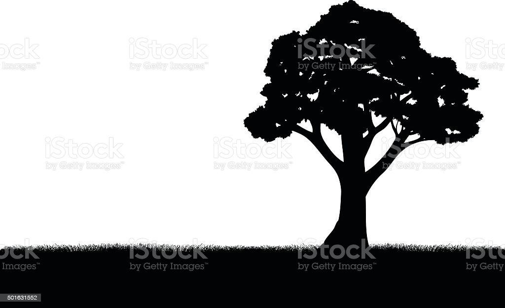 Tree vector art illustration