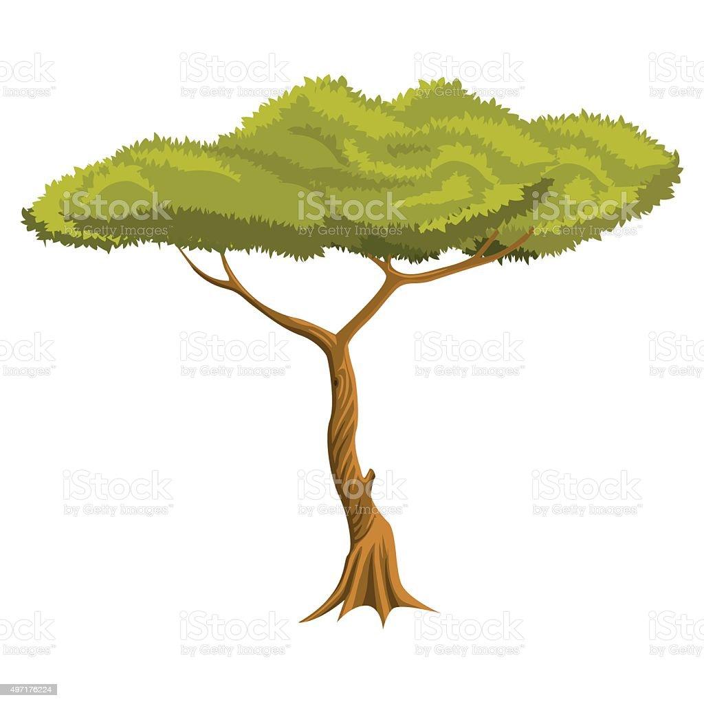 Tree vector illustration - VECTOR vector art illustration