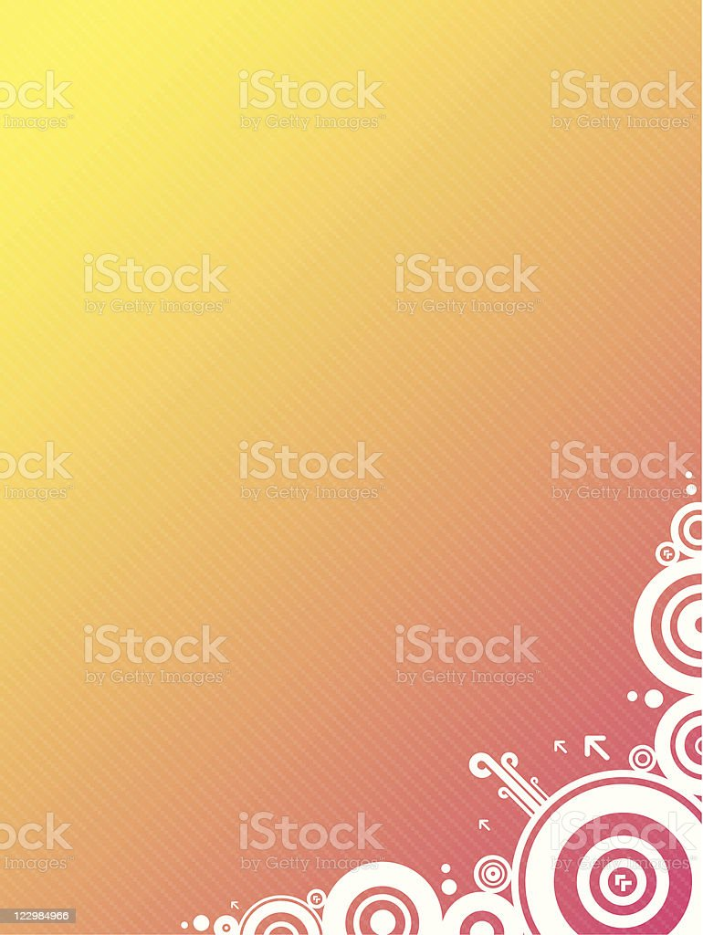 Trendy background lV (vector) royalty-free stock vector art
