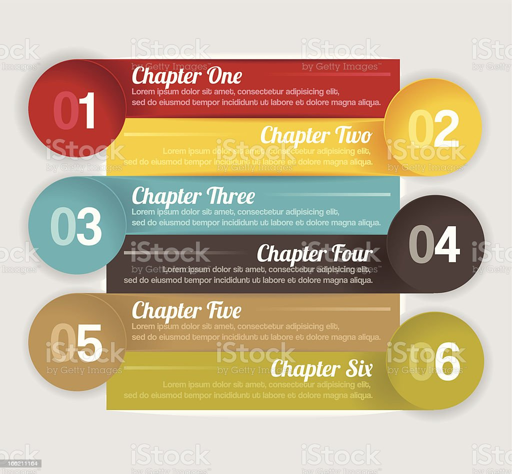 Trendy design template vector art illustration