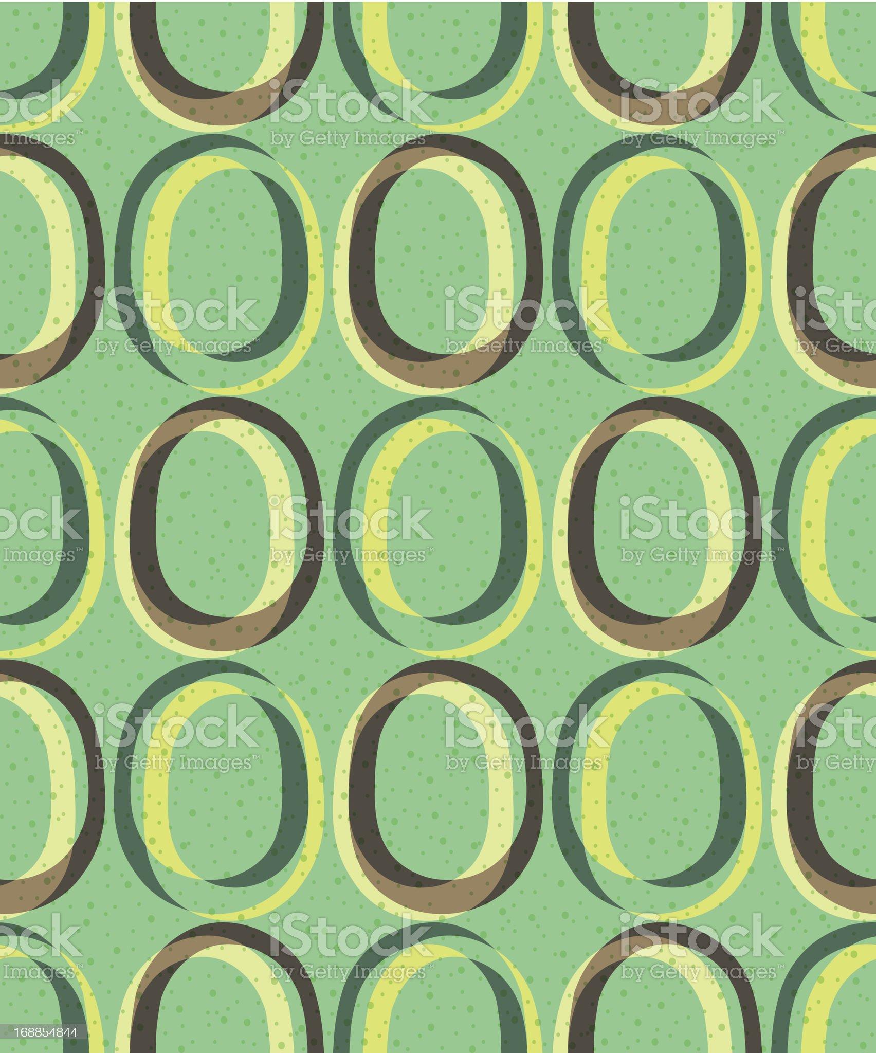 Trendy retro seamless pattern royalty-free stock vector art