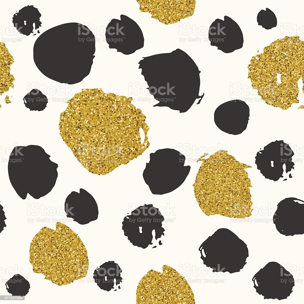 Trendy spot color vector seamless pattern. vector art illustration