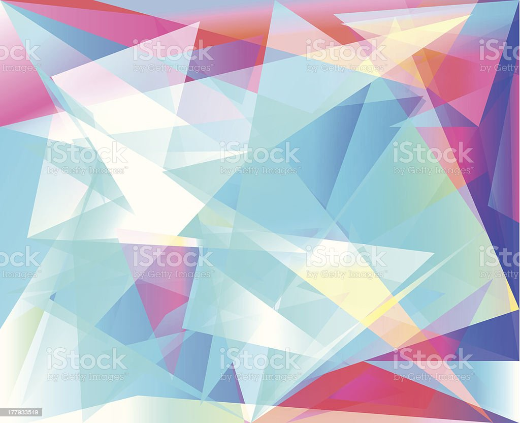 triangle abstract background royalty-free stock vector art