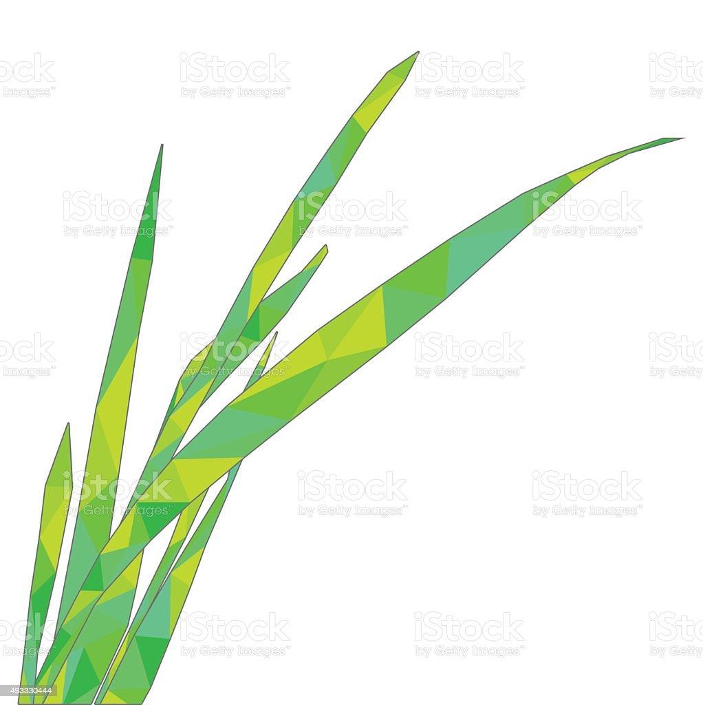 blade of grass vector - photo #1