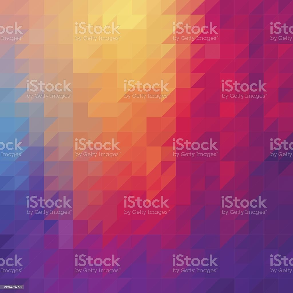 Triangle diamond abstract background vector art illustration