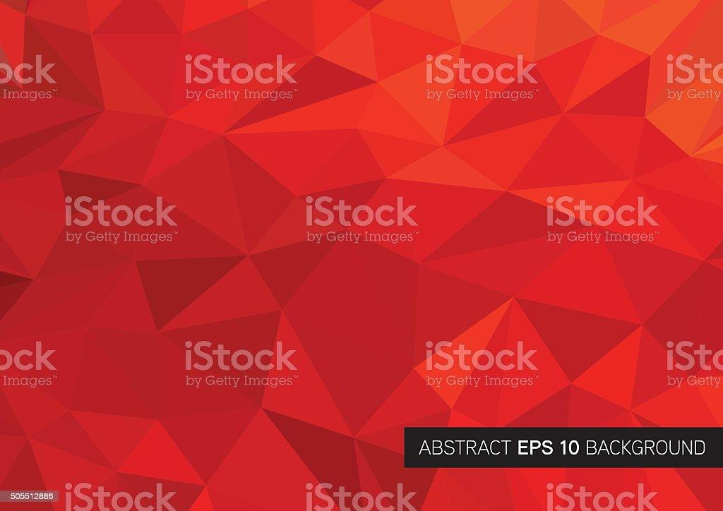 Triangle geometrical background vector art illustration