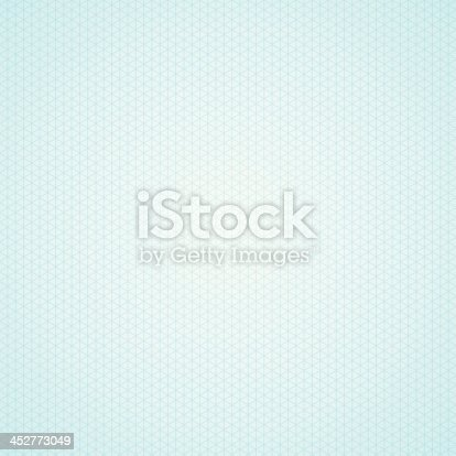 Triangle Light Blue Graph Paper Background Stock Vector Art